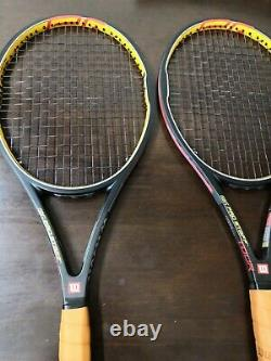 (1) New Wilson Hyper Pro Staff Tour 90 4 3/8 grip Tennis racquet