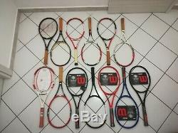 13x Federer Racquet Wilson Pro Staff Hyper Ncode Blx Kfactor 85 90 97 RF97 RF85