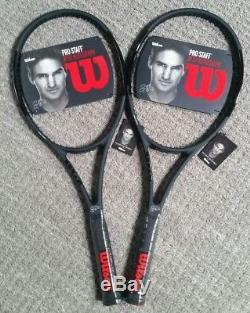 09b2032f4 2 Brand New 2017 Wilson Pro Staff Rf97 Autograph Tennis Racquets! Grip 4 5 8