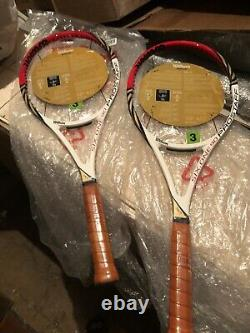2 WILSON PRO STAFF BLX 90 FEDERER 2012 339 grams Grip L4 (4 1/2) NEW! RARE