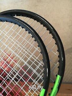 2 Wilson Blade 98 16x19 Grip Size 3