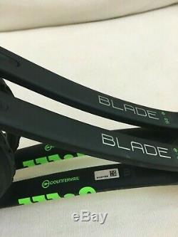 2 Wilson Blade 98's 18x20 withCountervail Matched pair -4 3/8th's' Grip