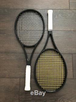 2 Wilson ProStaff 97L CV Tennis Racket Grip Size 4 3/8