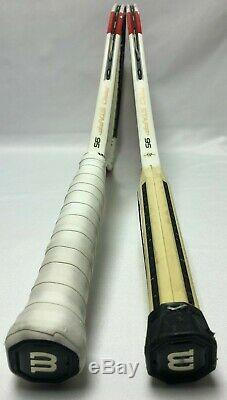 2 X Wilson BLX Basalt Matrix Pro Staff 95 4 1/4 made with Kevlar/Braided Graphite