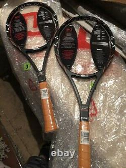 2 rackets WILSON PRO STAFF 88 PETE SAMPRAS 2 L3 (4 3/8) NEW! RARE