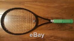 2 racquets 2017 Wilson Pro Staff Rf97l counterveil