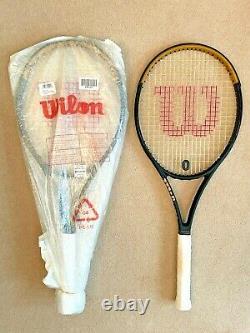 2 x Wilson Blade SW 102 with Federer Team Bag + sealed 12 Wilson Pro Overgrip