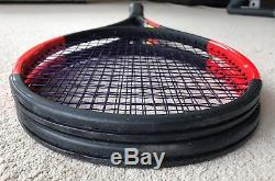 2 x Wilson Pro Staff 97S 2017 (Dimitrov) Tennis Rackets Grip 3 (4 3/8)