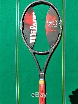 2009 Wilson K Factor K Pro Staff 88 Racket 4 3/8 KPS 88 Pete Sampras NEW NOS