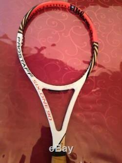 2012 Wilson BLX Pro Staff 90 head 4 5/8 grip Federer Tennis Racquet