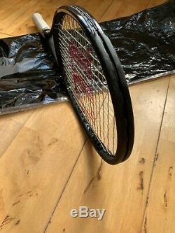 2017 Wilson Pro Staff Rf97 Autograph Tennis Racket Strung Grip 3 Roger Federer