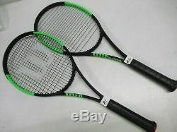 2018 Wilson Blade 98 (18x20) Countervail Tennis Racquet (4 1/2) Dealer Demo