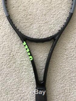 2020 Wilson H22 16x19 Pro Stock Tennis Racquet Blade 98 V7 Paint Job Racket