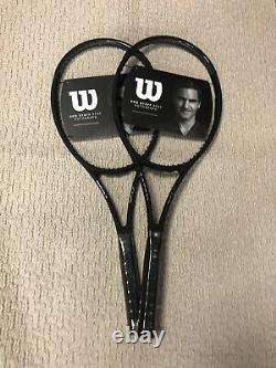 2X NEW Wilson Pro Staff RF 97 V13 Tennis Racquet Grip Size 4 3/8