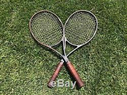2X WILSON Pro Staff 6.0 95 Classic STRUNG Tennis Racquets! 4 1/2
