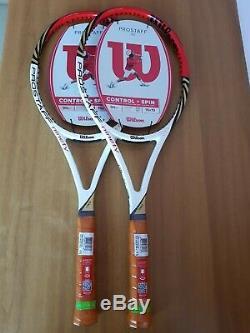 2x Wilson pro staff 90 blx manici L3, tennis racquet, Roger Federer