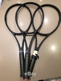 3x Wilson Pro Staff Tennis Racket