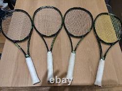 4x Wilson 2015 18x20 Blade Tennis Racket Size 4.5