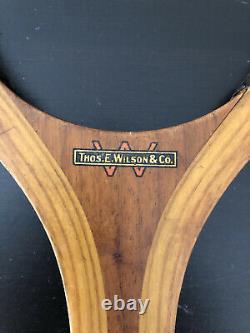 Antique Wilson tennis racket