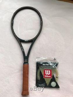 BNWOT Wilson Pro Staff Mid Size 85 Tennis Racquet St. Vincent Cap (BSQ) A