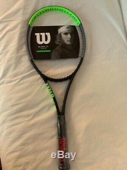 BNWT Wilson Blade 98 16x19 V7.0. New For 2020. Unstrung. Grip Size 4 3/8