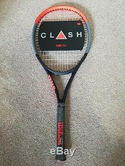 BRAND NEW! Wilson Clash 100UL Tennis Racket (Grip Size 0, 265g)