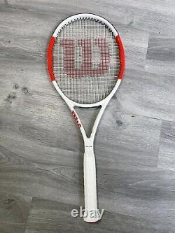 BRAND NEW Wilson SIX ONE 95 L3 Tennis Racket, Strung With Wilson Sensation