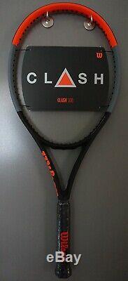 BRAND New Wilson CLASH 100 Tennis Racquet 4 1/2 L4 Racket 16x19 2019