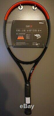 BRAND New Wilson CLASH 108 Tennis Racquet 4 3/8 Racket 16x19 2019 NEW RELEASE