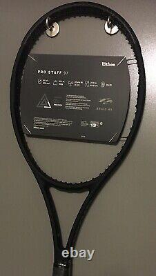 BRAND New Wilson Pro Staff 97 v13 Tennis Racquet 4 3/8 Racket 16x19 2020