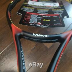 Brand NEW Wilson Pro Staff 6.1 Stretch Classic 95 MP 18x20 #4 Unstrung with Case