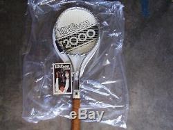 Brand New Rare Wilson T-2000 Tennis Racquet 41/2 W /original Tags Spectacular