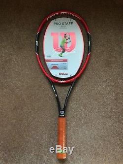 Brand New Wilson Pro Staff 97 Rf Autograph Federer Tennis Racquet Unstrung