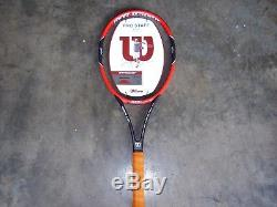 Brand Newith Wilson Pro Staff RF 97 Tennis Racquet 41/4 First Generation