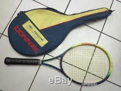 Donnay Pro one made in belgium os 107 head agassi 4 5/8 grip Tennis Racquet