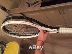 Federer Limited Wimbledon Wilson Pro Staff RF 97 8th GS Signed Racquet Replica