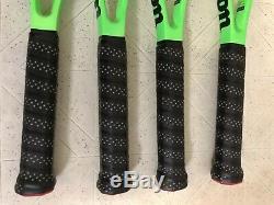 Goffin Personal Pro Stock Wilson Reverse CV Blade 98 Paint Job Tennis Racquet