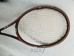 Good used Midsize Wilson Pro Staff 85 Tennis Racquet (AUQ Sampras 4 1/2 L)