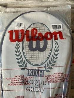 IN HAND, READY TO SHIP! Kith For Wilson Tennis Racquet Pro Staff 97 3/8 with Bag