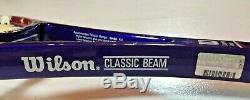 JIM COURIER PERSONAL CUSTOM Wilson Pro Saff Tour Classic 6.6 midsize 85 SIGNED
