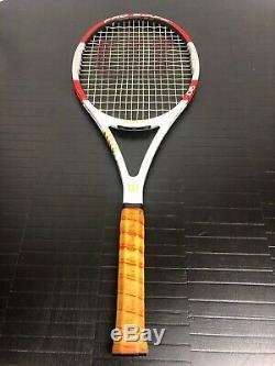 MINT WILSON PRO STAFF 90 (2014) Tennis Racket 4 3/8 (#3) By Roger Federer
