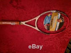 NEW 2012 Wilson BLX Pro Staff Tour 90 Roger Federer 4 3/8 grip Tennis Racquet