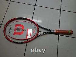 NEW 2014 Wilson Pro Staff 97 head 11.1oz unstrung 4 1/4 grip Tennis Racquet