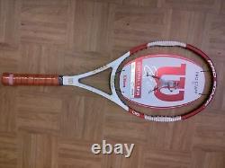 NEW 2014 Wilson Pro Staff Tour 90 Roger Federer 4 1/2 grip Tennis Racquet