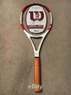 NEW 2014 Wilson Pro Staff Tour 90 Roger Federer 4 3/8 grip Tennis Racquet