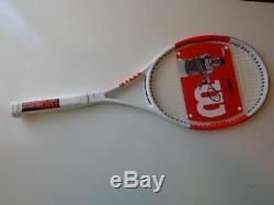 NEW 2017 Wilson Six-ONE 95 18x20 11.7oz 4 1/2 grip Tennis Racquet
