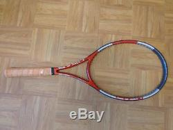 NEW Head Liquidmetal Prestige Pro Stock 98 head Czech 4 3/8 grip Tennis Racquet