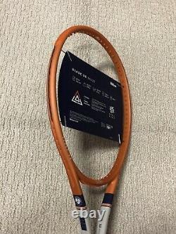 NEW Limited Edition Wilson Blade 98 Roland Garros Tennis Racquet Grip Sz 4 1/4