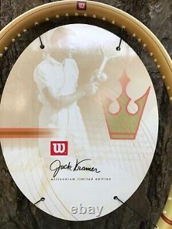 NEW RARE Jack Kramer Millenium Limited Edition Tennis Racquet 4 3/8 grip