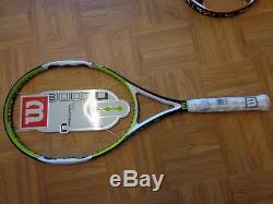 NEW RARE Wilson Ncode N Pro Open 100 head 4 1/2 grip Tennis Racquet